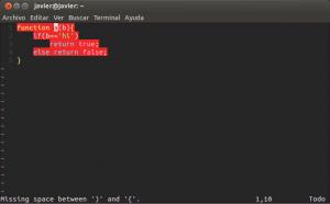 Javascript Validator